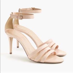 J. Crew Leather Ankle Strap Sandals